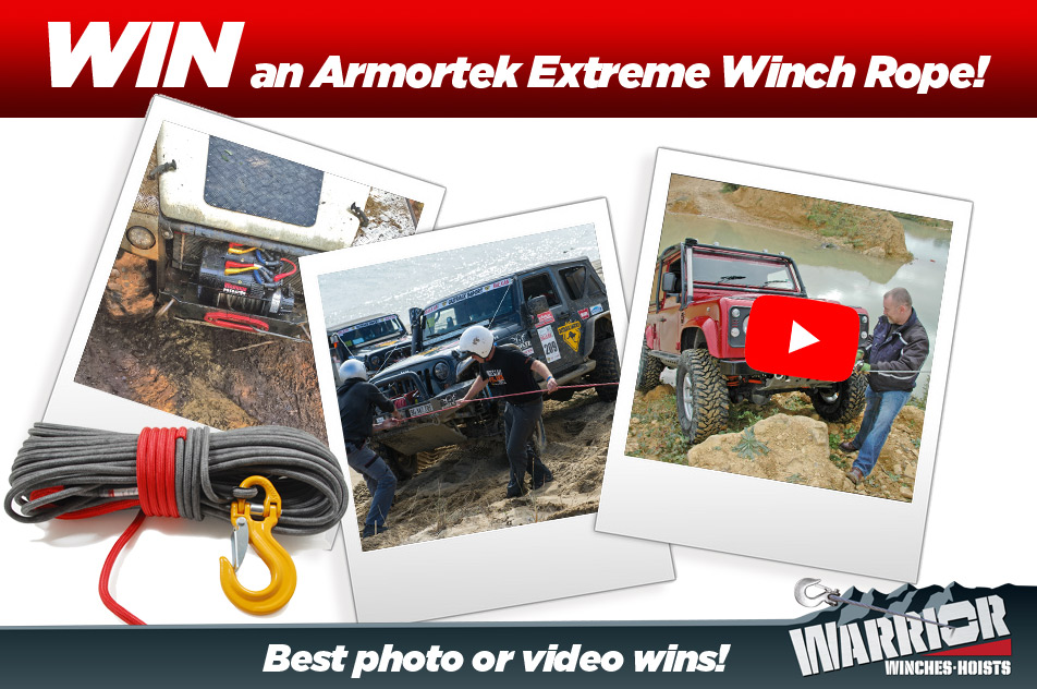 Win a Winch Rope!