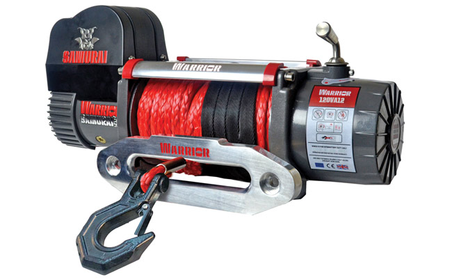 Samurai Next Generation 12000 Electric Winch - Armortek Rope
