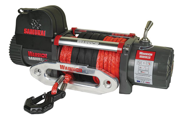 Samurai Next Generation 9500 Electric Winch - Armortek Rope