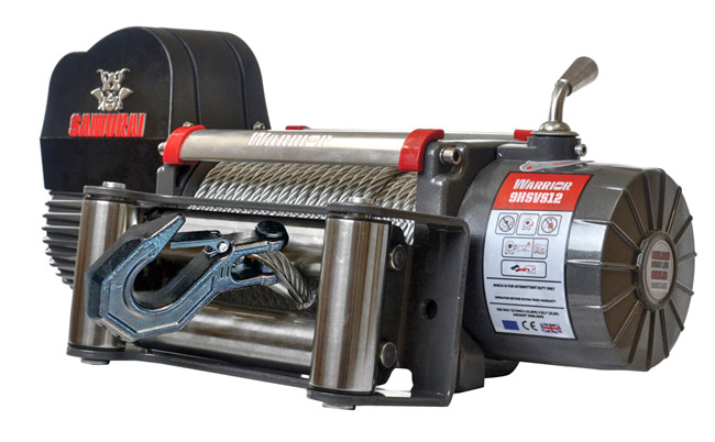 Samurai Next Generation 9500 High Speed Winch