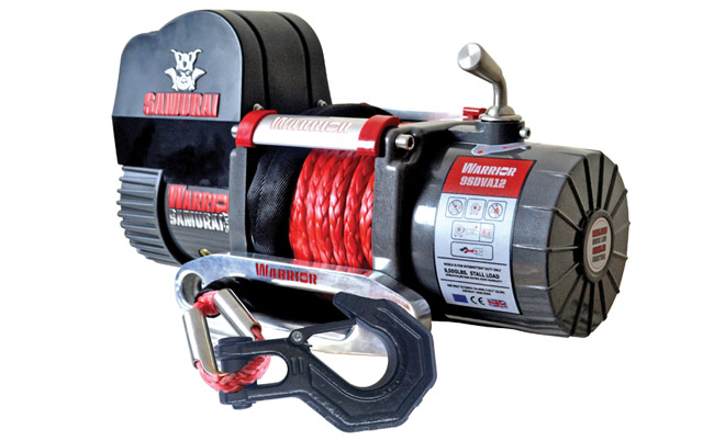 Samurai Next Generation 9500 Short Drum  Winch - Armortek Rope