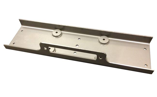 Installation Plate - Up to 12000lbs Winch
