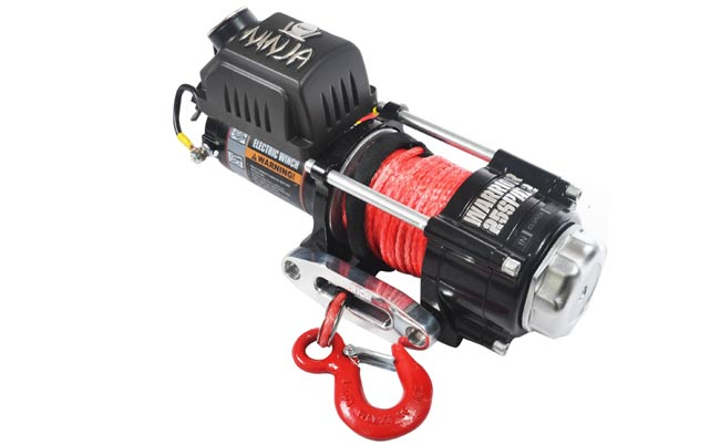 Ninja 2500 Electric Winch - Synthetic