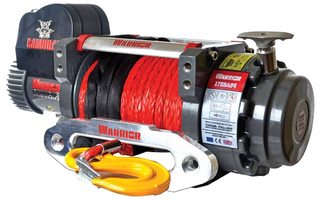 Samurai 17500 Electric Winch - Synthetic