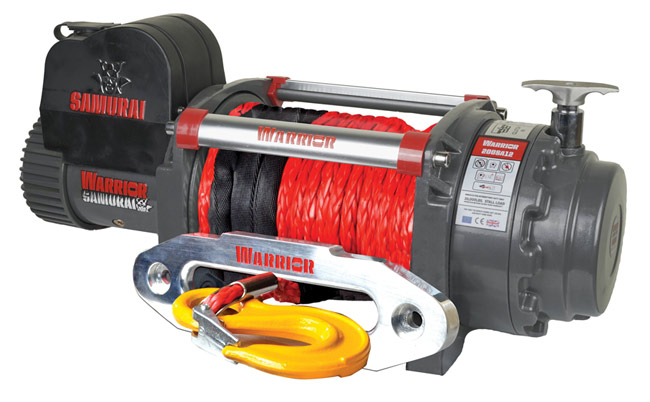Samurai 20000 Electric Winch - Synthetic