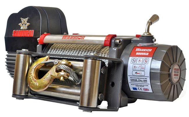 Samurai 8000 Electric Winch