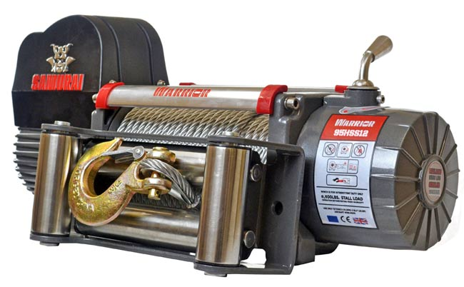 Samurai 9500 High Speed Electric Winch
