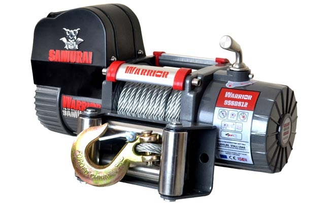 Samurai 9500 Short Drum Electric Winch