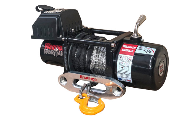 Spartan 5000 Electric Winch - Synthetic