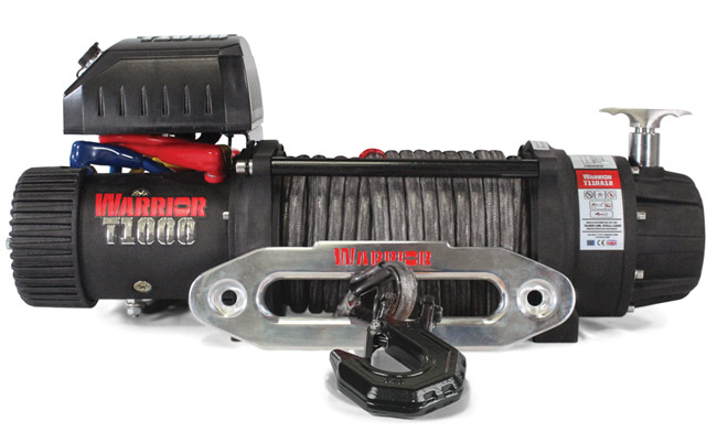 T1000-100 Elite Combat Winch - Synthetic