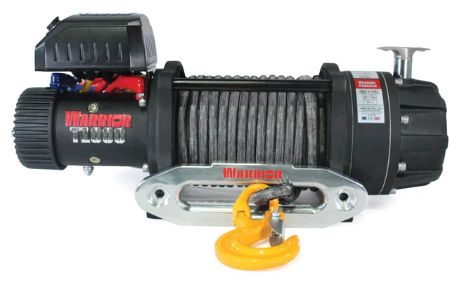 T1000-2200 Elite Combat Winch - Synthetic