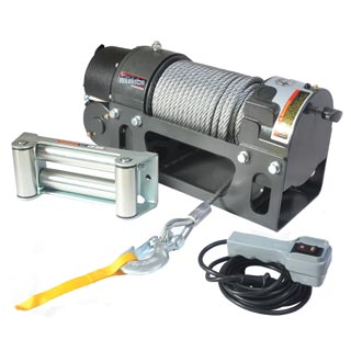 Worm Drive Winches
